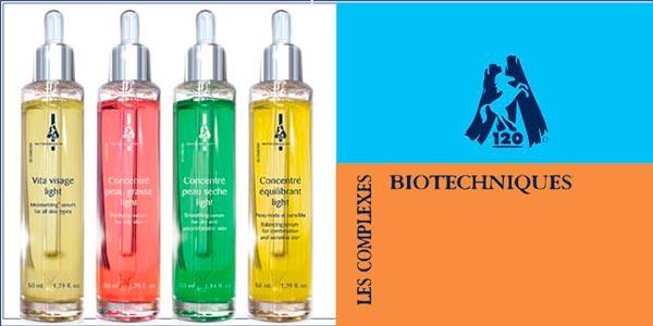 4 НОВЫЕ КОНЦЕНТРАТА для ухода за кожей лица из Франции от Les complexes Biotechniques M120