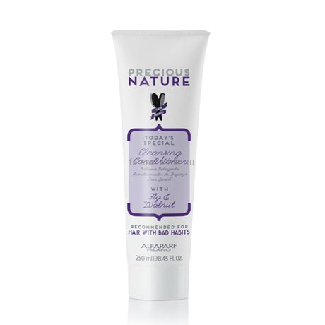 Alfaparf Precious Nature Cleansing Conditioner For Hair With Bad Habits Очищающий кондиционер для волос с вредными привычками 250 мл.