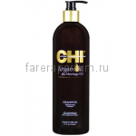 CHI Argan Oil Shampoo Шампунь с маслом Арганы и маслом дерева Маринга 739 мл.