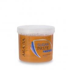 "Aravia Сахарная паста для депиляции ""Легкая"" средняя консистенция 750 гр."