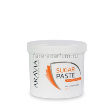 "Aravia Сахарная паста для депиляции ""Натуральная"" мягкая консистенция 750 гр."