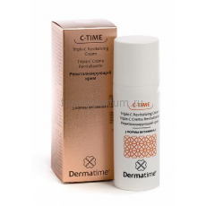 Dermatime C-Time Triple-C Revitalizing Cream Ревитализирующий крем / 3 формы витамина С 50 мл.