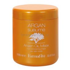 Farmavita Argan Sublime Mask Маска с аргановым маслом 1000 мл.