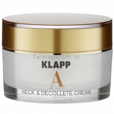 Klapp A Classic Neck & Decollete Cream Крем для шеи и декольте 50 мл.