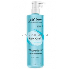 Ducray Керакнил Очищающий гель для лица и тела 400 мл.