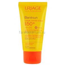 Uriage Барьесан Крем тональный золотистый SPF50+ 50 мл.