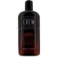 American Crew 24-Hour Deodorant Body Wash Гель для душа дезодорирующий 24-часового действия 450 мл.