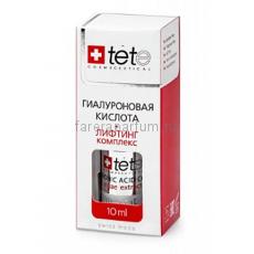 TETe Cosmeceutical Hyaluronic Acid + Lifting Complex Гиалуроновая кислота + Лифтинг комплекс 10 мл.