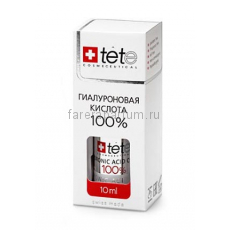 TETe Cosmeceutical Hyaluronic Acid 100% Гиалуроновая кислота 100% 10 мл.