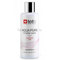 TETe Cosmeceutical Aqua pure micellar water Мицеллярная вода с гиалуроновой кислотой 200 мл.
