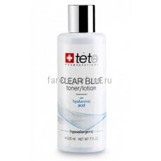 TETe Cosmeceutical Clear blue toner/lotion Тоник/лосьон с гиалуроновой кислотой 200 мл.