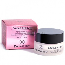 Dermatime Caviar Delight Ageless Day Cream SPF 15 Омолаживающий дневной крем СЗФ 15 50 мл.