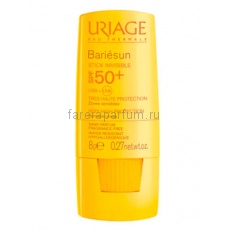 Uriage Барьесан SPF50+ Невидимый стик для чувствительных зон 8 гр.
