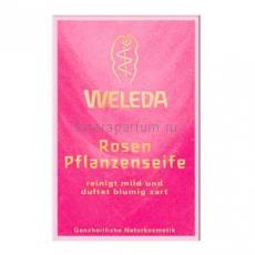 Weleda Мыло растительное розовое 100 гр.