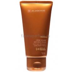 Academie Bronzecran Солнцезащитный регенерирующий крем для лица SPF 40 50 мл.