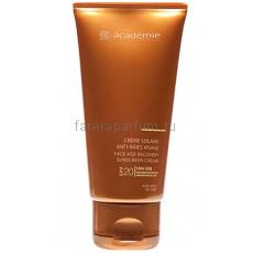 Academie Bronzecran Солнцезащитный регенерирующий крем для лица SPF 20 50 мл.