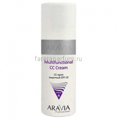 Aravia Multifunctional CC Cream СС-крем защитный SPF-20 150 мл.