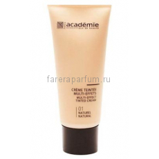 Academie Make-Up Тональный крем мульти-эффект № 1 Натуральный 40 мл.