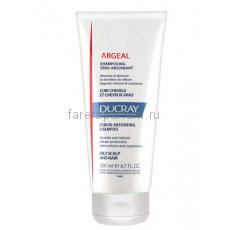 Ducray Аржеаль себоабсорбирующий шампунь для жирных волос 200 мл.