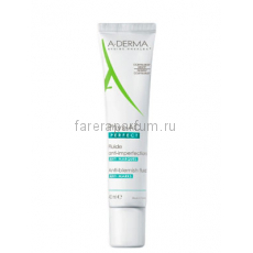 А-дерма Phys-Ac Perfect Флюид против дефектов кожи склонной к акне 40 мл.