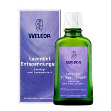 Weleda Лаванда масло для тела расслабляющее 100 мл.