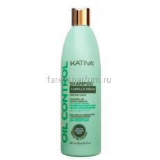 """Kativa Oil Control Шампунь """"Контроль"""" для жирных волос 250 мл."""