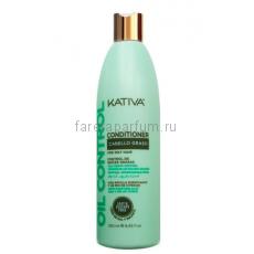 """Kativa Oil Control Кондиционер """"Контроль"""" для жирных волос 250 мл."""