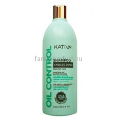 """Kativa Oil Control Шампунь """"Контроль"""" для жирных волос 500 мл."""