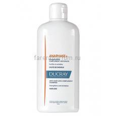 Ducray Анафаз+ Шампунь для ухода за ослабленными выпадающими волосами 400 мл.