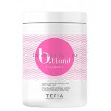Tefia B.blond Treatment Маска для светлых волос с абиссинским маслом 1000 мл.