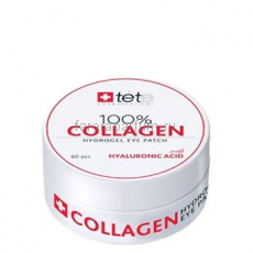 TETe 100% collagen hydrogel eye patch Гидроколлагеновые патчи для глаз 60 шт.