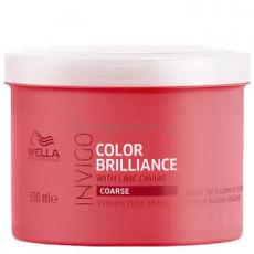 Wella Invigo Color Brilliance Маска-уход для защиты цвета окрашенных жестких волос 500 мл.