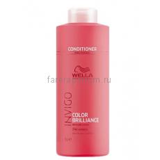 Wella Invigo Color Brilliance Бальзам-уход для защиты цвета окрашенных нормальных и тонких волос 1000 мл.