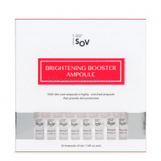 Isov Сыворотка Brightening Booster Ampoule (2 мл.*20 шт.)