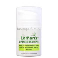 Lamaris Крем для проблемной кожи с маслом чайного дерева для лица 50 мл.