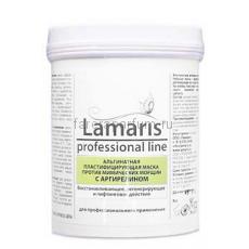 Lamaris Альгинатная пластифицирующая маска против мимических морщин с аргирелином 180 гр.