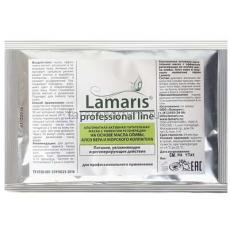 Lamaris Альгинатная активная питательная маска с эффектом регенерации на основе масла оливы, алоэ вера и морского коллагена 30 гр.