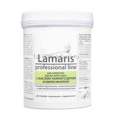Lamaris Альгинатная маска анти-акне с маслом чайного дерева и миоксинолом 180 гр.
