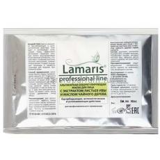 Lamaris Альгинатная себорегулирующая маска для лица с экстрактом листьев ивы и маслом чайного дерева 30 гр.