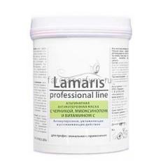 Lamaris Альгинатная антикуперозная маска с черникой, миоксинолом и витамином С 180 гр.