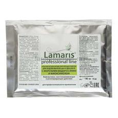 Lamaris Альгинатная моделирующая маска для подтягивания шеи и декольте с морскими водорослями и миоксинолом 30 гр.
