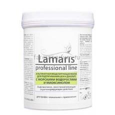 Lamaris Альгинатная моделирующая маска для подтягивания шеи и декольте с морскими водорослями и миоксинолом 180 гр.
