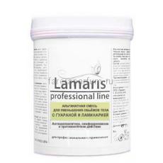 Lamaris Альгинатная смесь для уменьшения объемов тела с гуараной и ламинарией 180 гр.