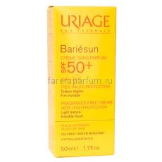 Uriage Барьесан SPF50+ Крем без ароматизаторов 50 мл.