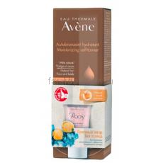 Avene Набор Автобронзант 100 мл. + мягкий скраб для тела 15 мл.