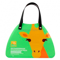 Beauty Style Lovely Care Восстанавливающая регенерирующая тканевая маска Жираф 30 гр.* 7 шт.