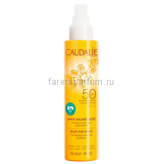 Caudalie Солнцезащитное молочко-спрей для лица и тела SPF50 150 мл.