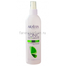 Aravia Тоник для очищения и увлажнения кожи с мятой и ромашкой 300 мл.