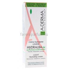 А-дерма Hydralba Легкий увлажняющий крем UV 40 мл.