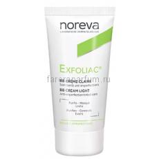 Noreva Эксфолиак ВВ крем для проблемной кожи (золотистый) 30 мл.